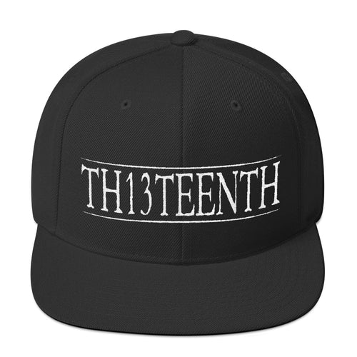 TH13TEENTH - Snapback Cap