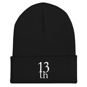 TH13TEENTH - Beanie with Logo