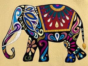 Elephant Appliqué with Trease Lane - Saturday 31st October 2020 - 10am to 4pm