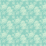 Harvest Collection from Tilda Flower Bush Teal TD481494 - £1.70/10cm  - NOW £1.40/10cm