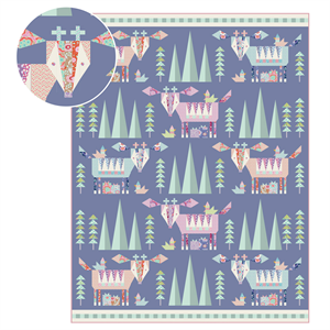 Tilda Birdpond Pattern - Mountain Holiday