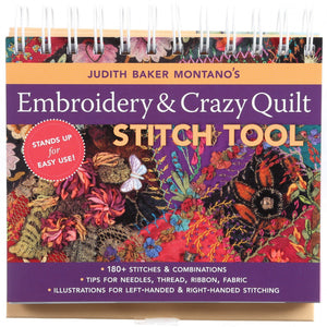 Judith Baker Montano's Embroidery & Crazy Quilt Stitch Tool # 10644