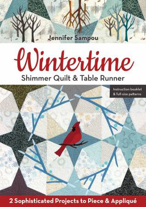 Wintertime Shimmer Quilt & Table Runner # 11375