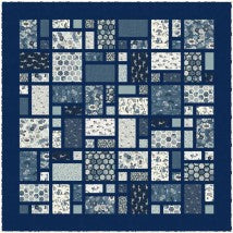 Indigo Quilt Pattern from Makower