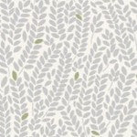 Into the Woods by Makower UK 1852/S5 Wheat Light Grey (Price per 10cm)