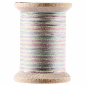 YLI Variegated Cotton Hand Quilting Thread - 400yds Pastels 211-04-V10