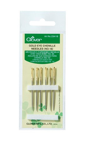 234/18 Gold Eye Chenille Needles (No. 18) 1.24 × 48.5 mm