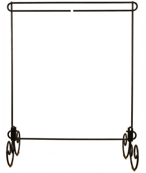 Table and Floor Stand Mini Quilt Hanger from Ackfeld - No Header Charcoal