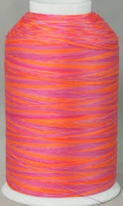 YLI Machine Quilting Thread - 40/3 Ply 3000 yards - 244 30 026-73V Maui Sunset