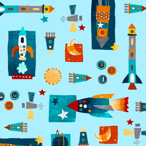 Space Adventure by Swizzle Stick Studio for Studio E 3742-11 £1.40/10cm