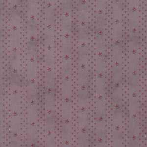 Quill  Budding Stripe Mauve by 3 Sisters' for Moda 44155-17 £1.40/10cm
