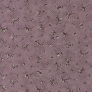 Quill  Butterflies Mauve by 3 Sisters' for Moda 44157-17 £1.40/10cm