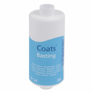 Coats Basting Thread  NR 24. 50g spool White