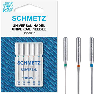 Schmetz Universal Machine Needle Assorted Sizes 70/80/90 5ct  -1711