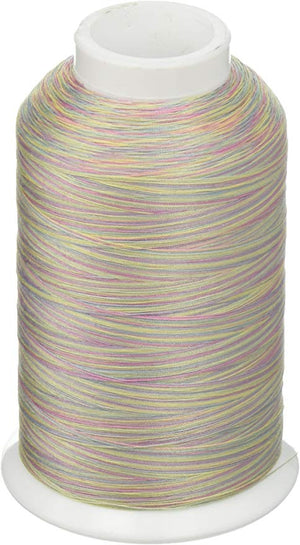 YLI Machine Quilting Thread - 40/3 Ply 3000 yards - 244 30 026-10V Pastels
