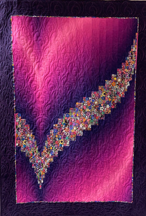 """Tick"" Bargello with Julie - Saturday 2nd November 10am to 4pm (Sewing machine required) Beginners plus"