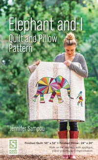 Elephant and I quilt/pillow Pattern