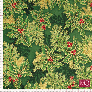 Holiday Flourish 11 from R Kaufman 17340-240-Holly