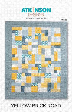 Yellow Brick Road  Quilt Pattern  ATK-126