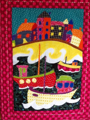 Messing about with Boats - with Trease Lane - Saturday May 4th 2019  10am to 4pm - Suitable for beginners (Sewing machine required)