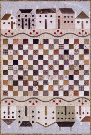 Button Town Quilt Pattern by The City Stitcher Quilt Collection