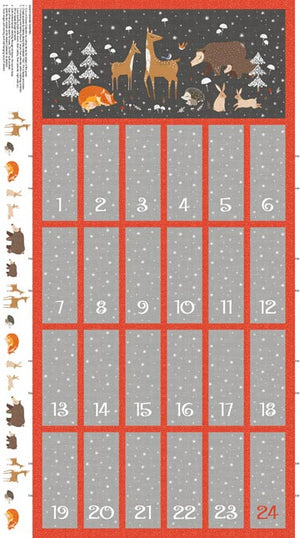 Winterland Advent Panel by Northcott - Panel DP22793-96
