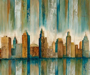 Panel of Urban Reflections by By Edward Selkirk for Northcott DP22949-66 £12 panel