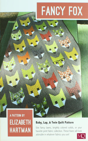 Fancy Fox Quilt Pattern £10.00