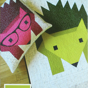 Hazel Hedgehog II Quilt & Pillow Pattern