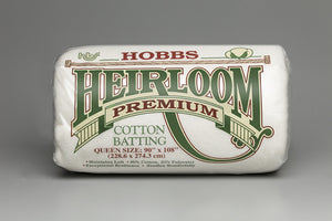 "92"" wide Hobbs Heirloom 80/20 Wadding - £10.50/metre"