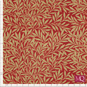 Morris Garden by Barbara Brackman for Moda - Willow Crimson £1.40/10cm