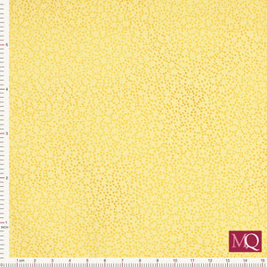 Quilter's Basic by Stof - Dark Yellow Flower Speckle 4513-231