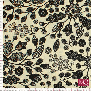 Blossom Vine by Daniel Murray for Blank Quilting NOW £7.00 8275- Black