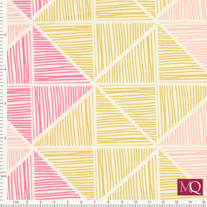 Chalk and Paint by Art Gallery Fabrics CHP-50204 Angular Strings- £1.40/10cm NOW £7.00m