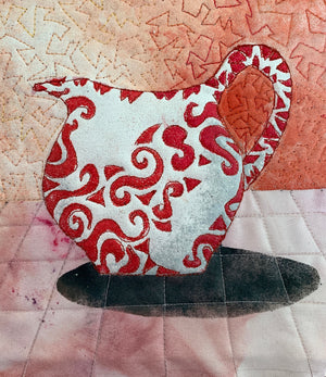 Stencil and Trapunto with Stephanie Crawford - Saturday September 26th 10am to 4pm