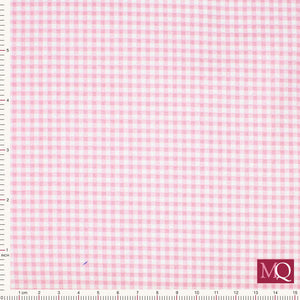 Gingham from Makower Pink 920-P3