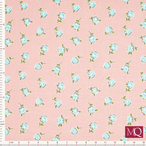 Katie Jane from Makower 1901_P Rose Pink - £1.20/10cm £12/m