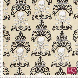 Bewitching by Deb Strain for Moda - Danger Damask- Tan- 19841-14 £1.40/10cm