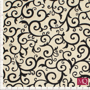 Bewitching by Deb Strain for Moda - Scary Swirls- Tan- 19845-13 £1.40/10cm