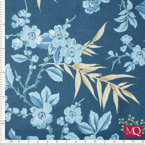 Edyta Sitar - Something Blue for Andover Bouquet Dark Blue 8822B Now £7/metre