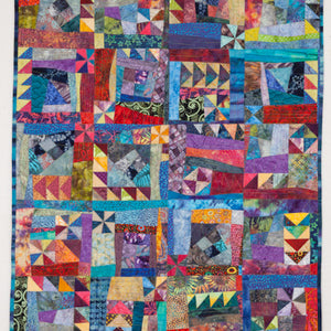 "Katharine Guerrier  A New Look at Crazy Quilting (hanging or purse) - on May 5th for ""Beginners"" Sewing Machine Required"