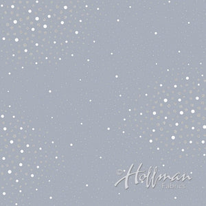 Sparkle and Fade by Hoffman Fabric P4323-92S-Slate - £1.40 10cm