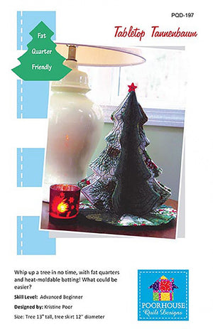 Tabletop Tannenbaum by Poor House Quilts  £6.50