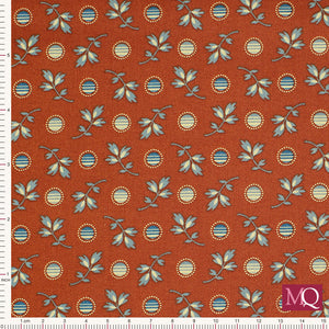 Pioneer Brides by RJR Fabrics Goldfield Antique Red RJR 3234-01 £1.40/10cm £14/m