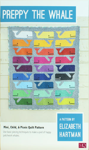 Preppy the Whale Quilt Pattern £10.00