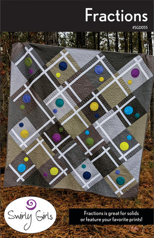 Fractions  Quilt Pattern  # SGD055