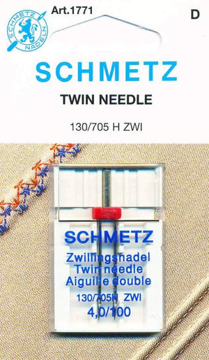Schmetz Universal Twin Machine Needles - 4/100 1771
