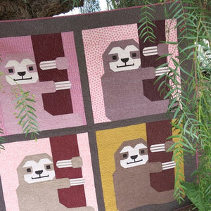 Sleepy Sloth Quilt & Pillow Pattern