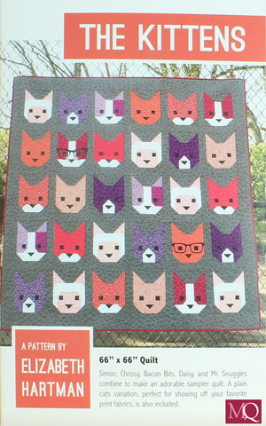 The Kittens Quilt Pattern £10.00