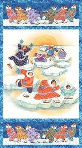Arctic Snow by Barbara Lavallee Panel 21216-44 £8.50